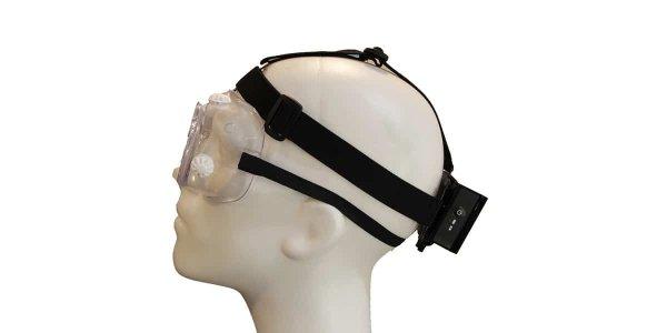 Exfog traditional headband attachment