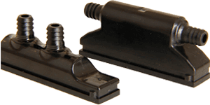 Exfog system attachment components