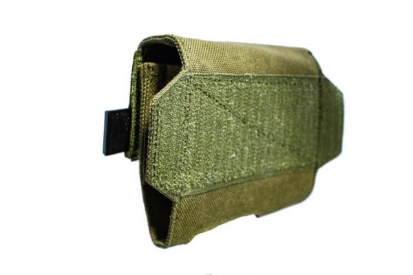 ExFog antifog system helmet pouch in green
