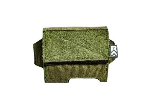 ExFog helmet pouch in green