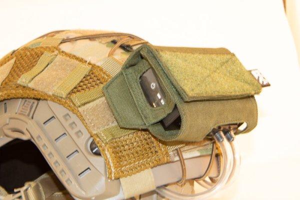 ExFog antifog system in use on helmet