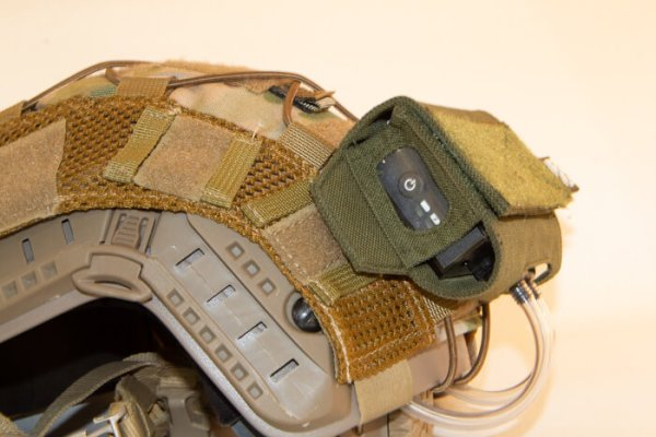 ExFog system on helmet